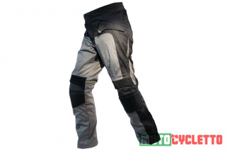 Мотобрюки MOTOCYCLETTO  FLAVIO GREY| BLACK